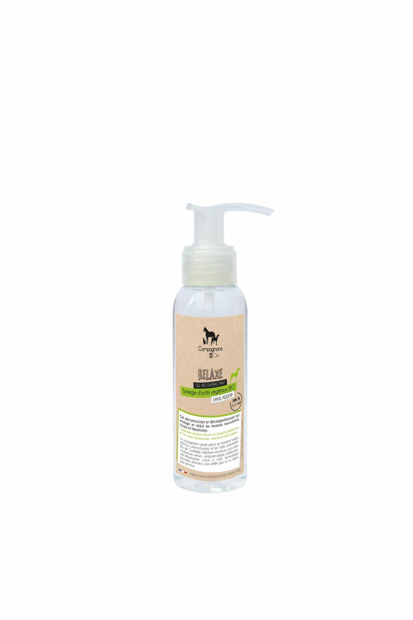 Compagnons et compagnie Dermrépare un soin naturel pour les chiens, sans additif ce gel à base d'huiles essentielles décontracte & décongestionne