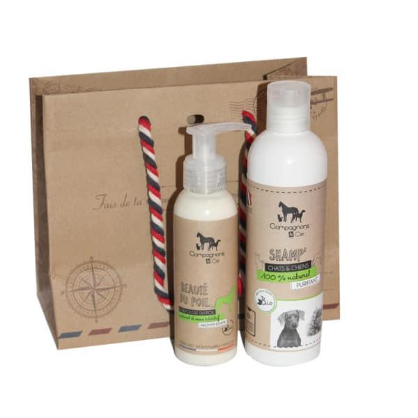 Idee cadeau noel chien soins naturels fabriqués en France