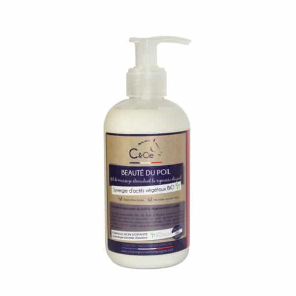 Gel de massage pour la beauté et la repousse du poil, soin sans additif, naturel pour chevaux