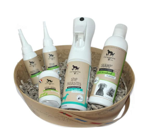 Soins naturels made in france pour chiens aromatherapie phytotherapie animale vermifuge antiparasitaire bio