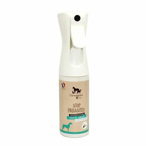 Anti parasitaire pour chien_ aux huiles essentielles bio brumisateur sans gaz pour les chiens peureux_soins naturels pour traiter les puces, les tiques,