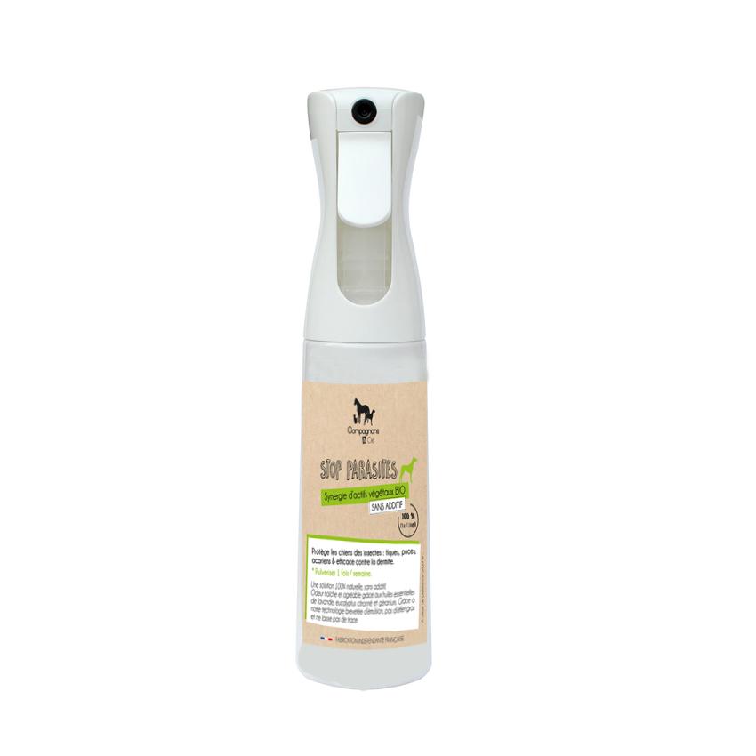 Anti parasitaire pour chien_ aux huiles essentielles bio brumisateur sans gaz pour les chiens peureux_soins naturels