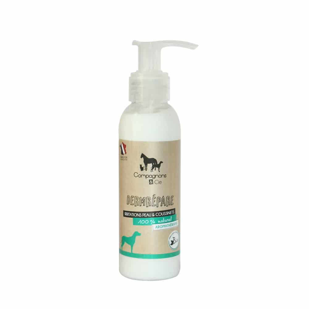 Compagnons et compagnie Dermrépare un soin naturel pour les chiens, sans additif pour les irritations de la peau et la sécheresse des coussinets