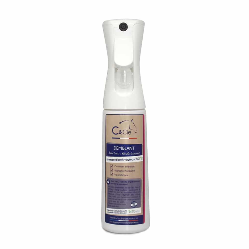 C&cie_Demelant crins cheval _soins naturels_aux huiles essentielles bio _gaine le crin produit cheval nourrissant crin