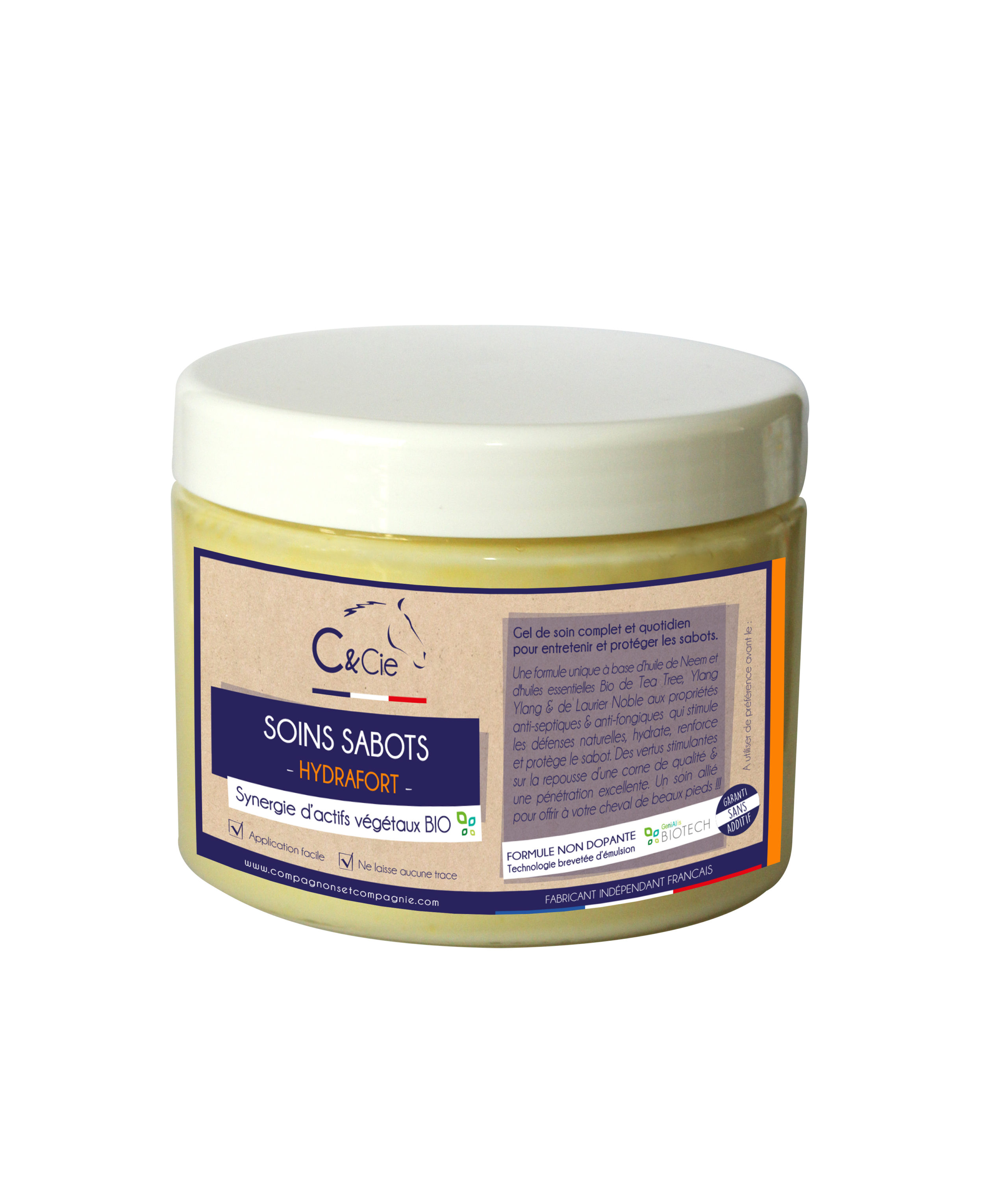 C&cie Hydrafort soin sabot qui hydrate et renforce_onguent naturel sans additif