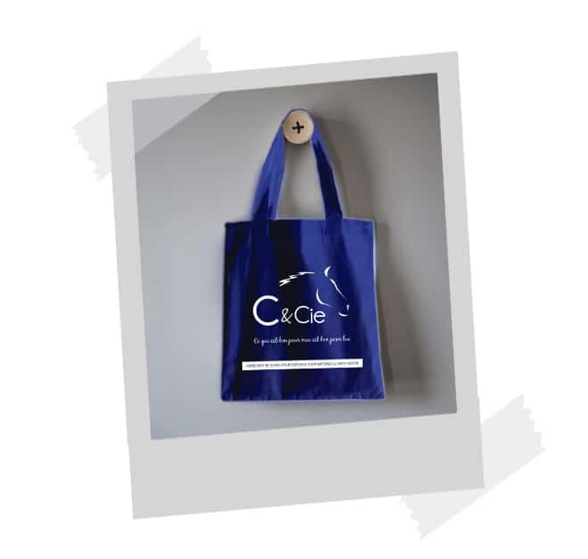 sac en coton réutilisable eco responsable equitation