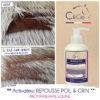 C&cie Beauté du poil : gel qui favorise la repousse du poil, crin cheval poney et entretient sa beauté - soin bio et naturel pour chevaux - made in france