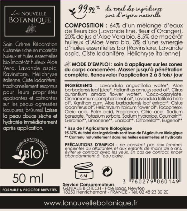 La-Nouvelle-Botanique_Aromatherapie_Cosmetique-Bio_Soin-Dermobotanique_reparation-cutanee_ideal-peaux-agressees-coupures-brulures_synergie-huiles-essentielles-bio