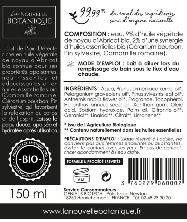 La-Nouvelle-Botanique_Hydrolatherapie_Cosmetique-Bio_Lait-de-bain-DETENTE-aux-huiles-essentielles-Bio_huile-végétale-noyau-abricot