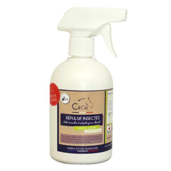 anti taons cheval Repulsif insectes bio pour chevaux - soins naturels aux huiles essentielles bio - repulsif taons - anti parasite - fabrication francaise