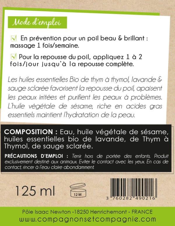 Compagnonsetcompagnie_CHIEN_beau-poil_beaute-pelage_soin-bio-naturel-pour-chien_sans-additif_gel-de-massage-stimulant-la-repousse-du-poil-aux-huiles-essentielles-bio_fabrication-francaise