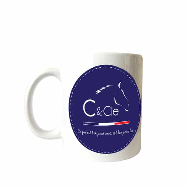 Tasse mug cheval compagnons et compagnie c&cie