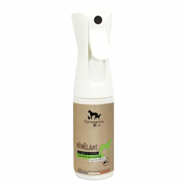 Démêlant disciplinant naturel pour chien_ produit naturel aux huiles essentielles pour chien aromathérapie canine dogcare