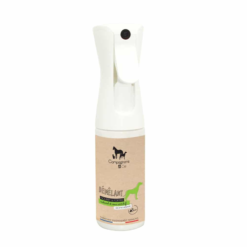 ompagnons&cie_demelant disciplinant naturel pour chien_aromatherapie chien_huiles essentielles bio_sans additif_brumisateur_