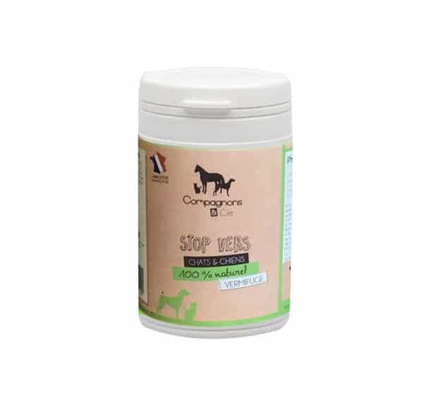 vermifuge naturel pour chiens et chat phytothérapie animale vers chiens chats naturalcatcare naturaldogcare
