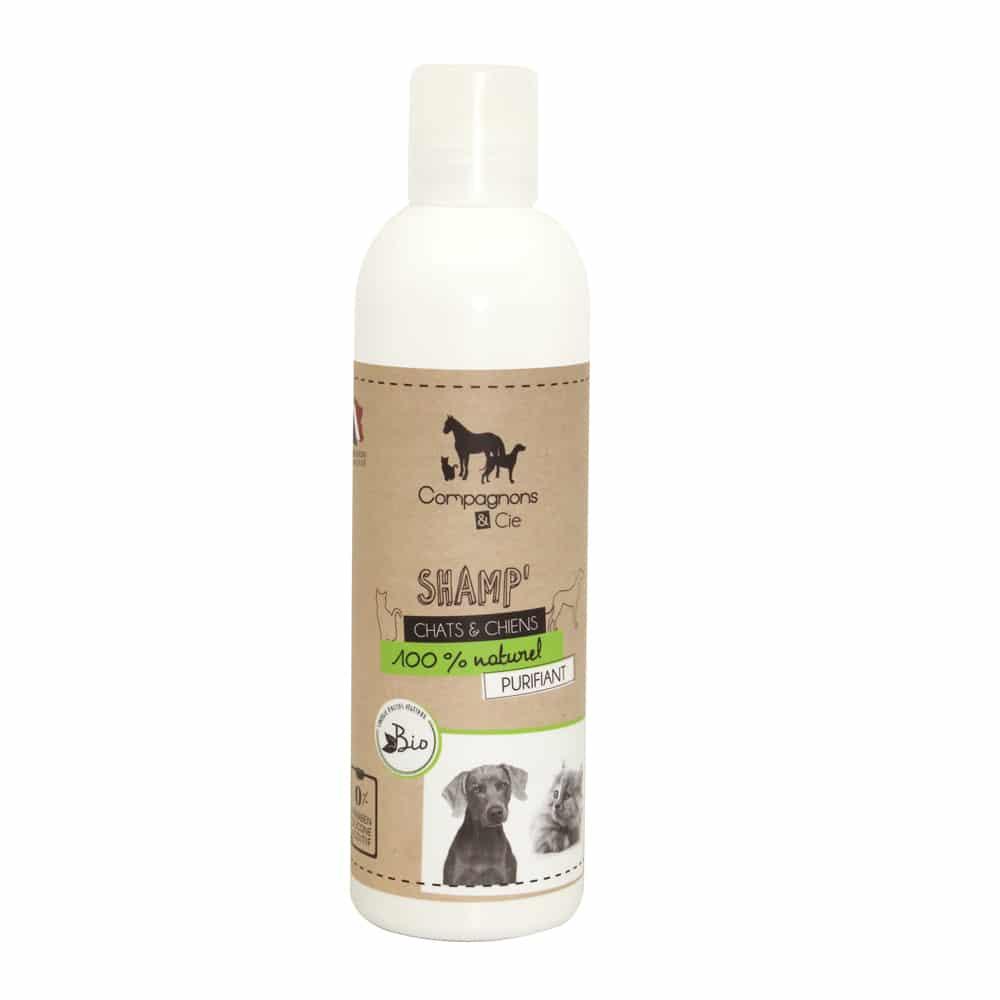 Compagnons&cie_Shampoing naturel pour chien et chat_sans additif__fabrication francaise_eau florale de lavande