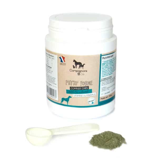 vitamines BARF Compagnons&cie_Phyto Form_Complexe en minéraux pour chiens_Poudre_Phytothérapie animale_BARF RATION MENAGERE
