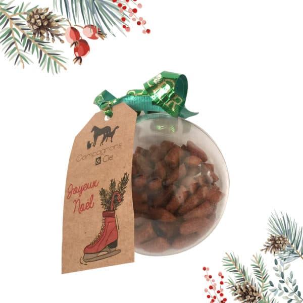 Boule de Noël pour chats_friandises_idée cadeau noël chats et chatons